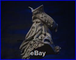 1/3 Davy Jones Model Unpainted Statue Pirates of the Caribbean Octopus Captain