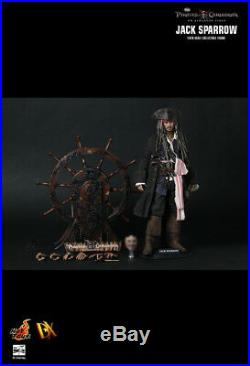 1/6 HOT TOYS DX06 JACK SPARROW Pirates of the Carribean 12 JOHNNY DEPP Figure