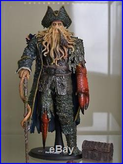 1/6 Hot Toys Sideshow Davy Jones Pirates Of The Caribbean Action Figure RARE