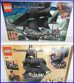 100% LEGO #4184 Disney Pirates Of The Caribbean Set BLACK PEARL Ship Davy Jones+