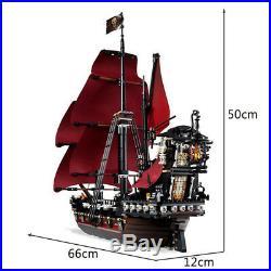 1151 Pc Queen Anne's Revenge Ship Pirates Of The Caribbean Model Building Blocks