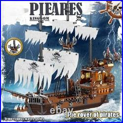 1171pcs LEGO Pirates of the Caribbean Ship Model Building Blocks Movies Technic