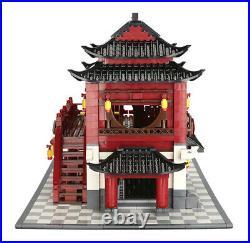 1643PCS City Street Creator Chinese Traditional Building Blocks Brick Model Toy