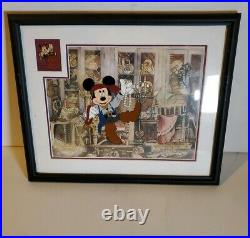 2007 Disney A Pirate's Life Ink Paint Pirates of the Caribbean HAND PAINTED CEL