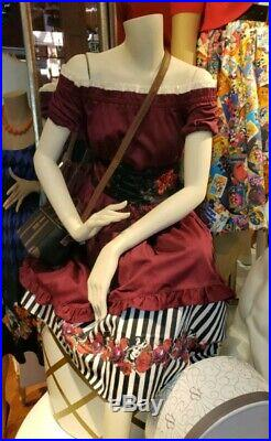 2019 Pirates of the Caribbean Disney Parks The Dress Shop Dress M Medium REDD