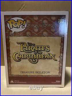2021 Eccc Funko Pop! Treasure Skeleton Pirates Of The Caribbean Gitd
