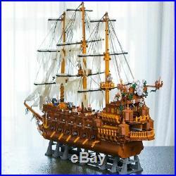 3652Pcs The Flying Dutchman Pirates of the Caribbean Building Blocks Bricks MOC