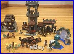 4 set lot Lego Pirates of the Caribbean Whitecap Bay 100% Complete with minifigs