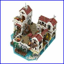 4948Pcs Eldorado Fortress Pirates of Barracuda Bay MOC49155 Compatible With Lego