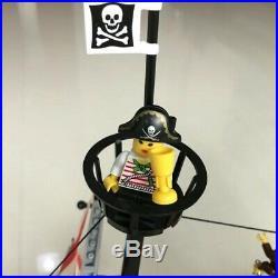 +870pcs Pirates Of The Caribbean Pirate Ship Legoed Blocks Toys Model Kit
