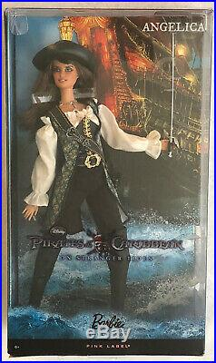 ANGELICA Pirates of the Caribbean POTC Barbie T7655 NRFBPRICED TO SELL