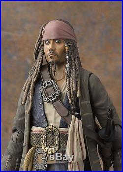 BANDAI S. H. Figuarts Captain Jack Sparrow Pirates of the Caribbean Dead men JAPAN