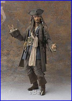 Bandai S. H. Figuarts Pirates of the Caribbean Captain Jack Sparrow Japan version