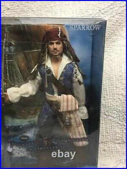 Barbie Collector Pirates Of The Caribbean Angelica & Captain Jack Sparrow NRFB