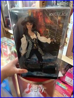 Barbie Disney Pirates Of The Caribbean Angelica Pink Label Sammler