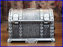 Big Size Pirates of the Caribbean Treasure Chest with Lock 2 Layers Jewelry Box