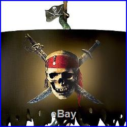 Bradford Exchange Disney Pirates of the Caribbean Jack Sparrow Lamp NEW