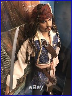 Captain Jack Sparrow Barbie Doll Ken Pirates of the Caribbean Johnny Depp T7654