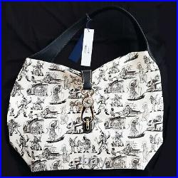 Disney 2017 Dooney & Bourke Pirates Of The Caribbean Hobo Satchel Bag Lock New