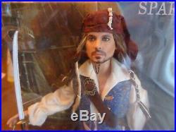 Disney CAPTAIN JACK SPARROW Pirates Of The Caribbean Barbie Pink Label Depp