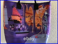 Disney D23 EXPO Harveys SHAG Pirates of the Caribbean Streamline Tote Signed NWT