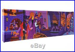 Disney D23 SHAG Scoundrels and Skeletons Canvas Wrap LE 295 Pirates of Caribbean