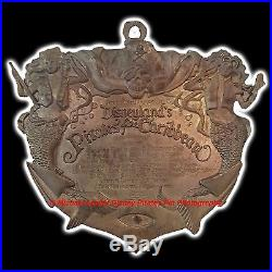 Disney Disneyland's Pirates Of The Caribbean Plaque Pin New In Box