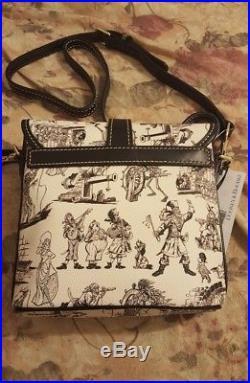 Disney Dooney & And Bourke Pirates Of The Caribbean Crossbody Purse Bag NEW