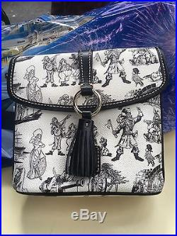 Disney Dooney & Bourke Pirates Of The Caribbean Crossbody Bag Purse Red Head