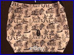 Disney Dooney & Bourke Pirates of the Caribbean Redhead Shoulder Hobo Purse 2/4