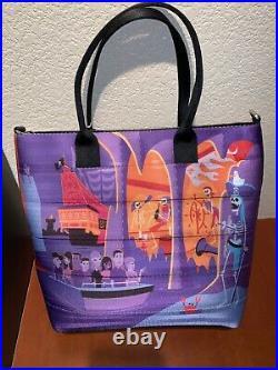 Disney Harveys Shag Pirates of the Caribbean Scoundrels Skeletons Tote Purse Bag