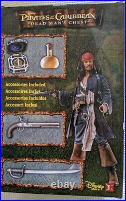 Disney (Johnny Depp) Pirates of the Caribbean 16 Figure Captain Jack Sparrow