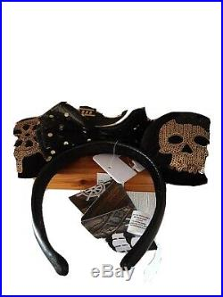 Disney Minnie Mouse Main Attraction Ears Feb Pirates of the Caribbean 2 of 12