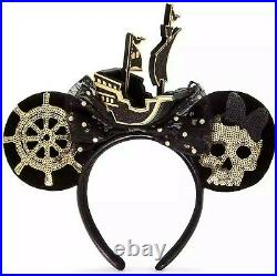 Disney Minnie Mouse Main Attraction Ears Pirates of the Caribbean February 2/12
