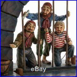 Disney Parks Jim Shore Pirates of the Caribbean Jail Scene Dog Key Figure NIB