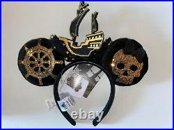 Disney Parks Minnie Mouse Headband February Pirates Of The Caribbean