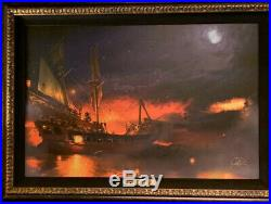 Disney Parks Pirates Of The Caribbean Framed LE Giclee by Joel Payne New