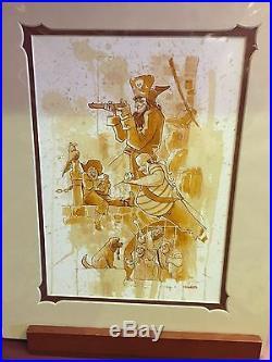 Disney Parks Pirates Of The Caribbean Yo Ho A Pirates Life Print Brian Kesinger