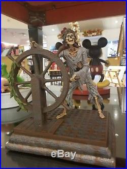 Disney Parks Pirates of the Caribbean Helmsman figure figurine new Disneyland