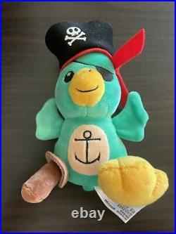 Disney Parks Wishables Plush Parrot Pirates of the Caribbean (RARE)
