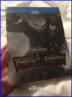 Disney Pirates of the Caribbean Trilogy Futureshop Steelbook 1 2 3 4 5 Set RARE