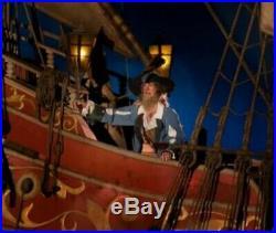 Disney World Magic Kingdom Pirates Of The Caribbean Ride Prop Ship Piece