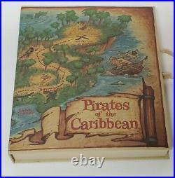 Disneyland PIRATES OF THE CARIBBEAN 33rd ANNIVERSARY SET 5 COINS 2000 Disney