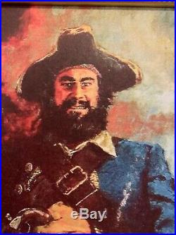 Disneyland Pirates Of The Caribbean 1967 Blackbeards Ghost Giclee POTC Ride Prop