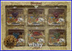 Disneyland Pirates Of The Caribbean 50th Anniversary Pin Set LTD 500 NEW