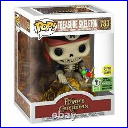 Eccc 2021 Funko Pop Treasure Skeleton Pirates Of The Caribbean Le 4000 Fast Ship