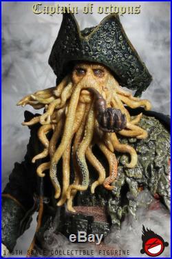 FIGURE TOYS XD TOYS XD001 1/6 The Octopus captain Davy Jones