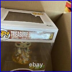 FUNKO POP! Pirates Of The Caribbean Treasure Skeleton LE 4000 GITD ECCC 2021