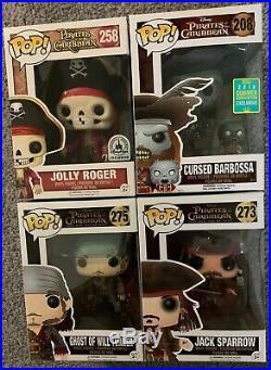 Funko POP! Pirates Of The Caribbean Disney Exclusive Jolly Roger Barbossa
