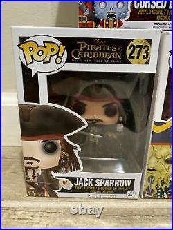 Funko POP! Pirates of the Caribbean CURSEB BARBOSSA, JACK SPARROW, DAVY JONES